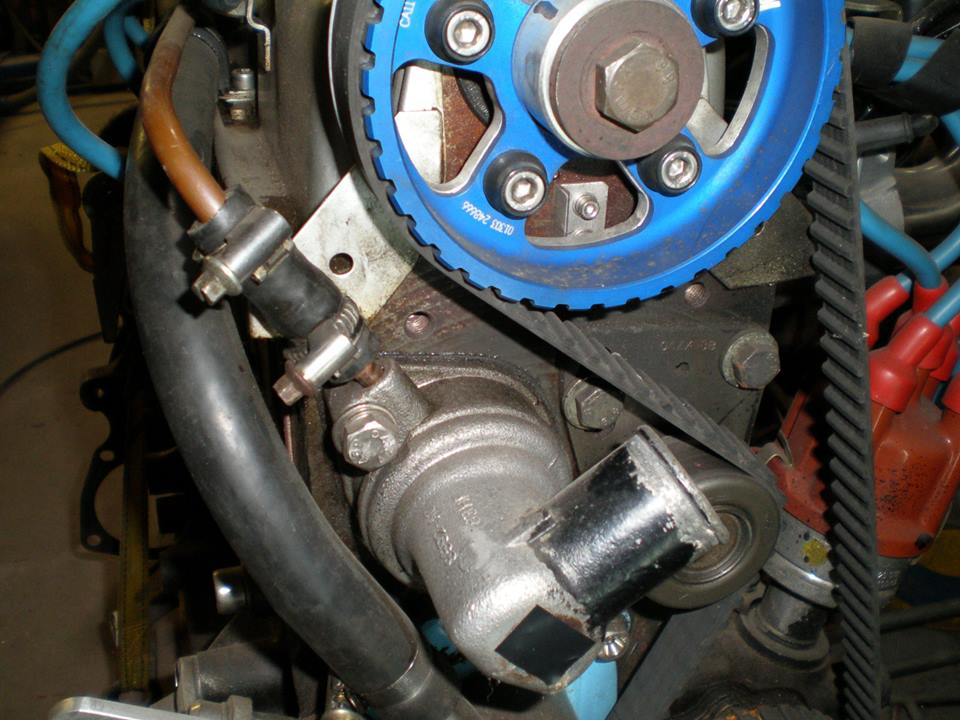 Timing Belt Replacement Ford 2 0 Sohc S8 S8a S8at D10 Donkiespeed Nl